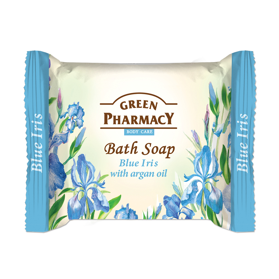 86805 bath soap iris with argan oil