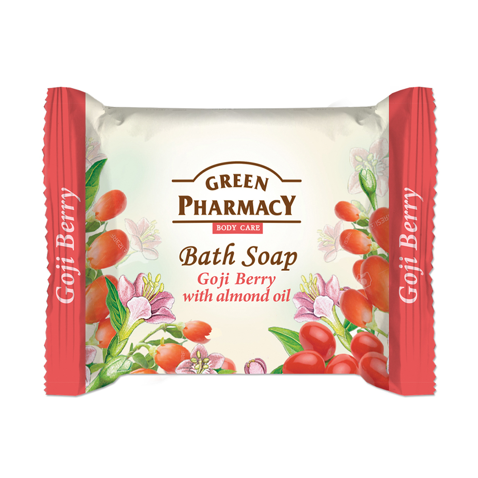 86803 bath soap goji berry with almond oil
