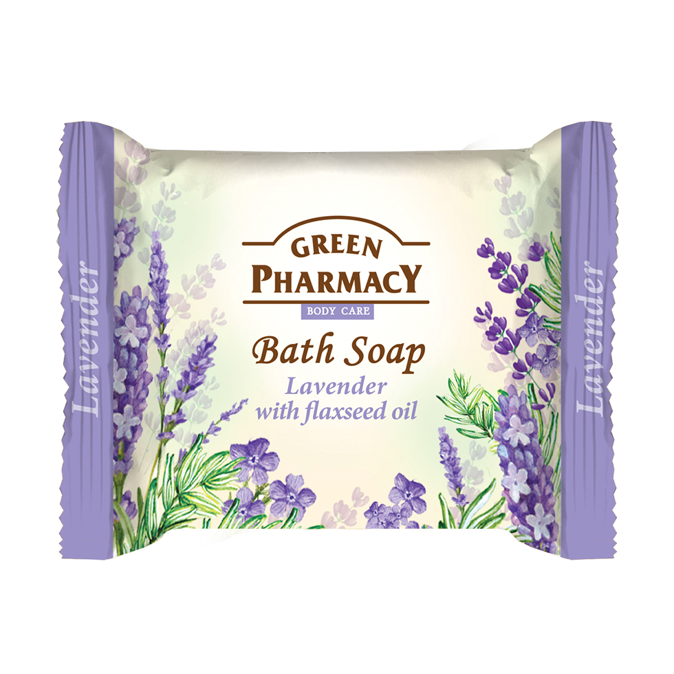 86807 bath soap lavender and flaxseed oil