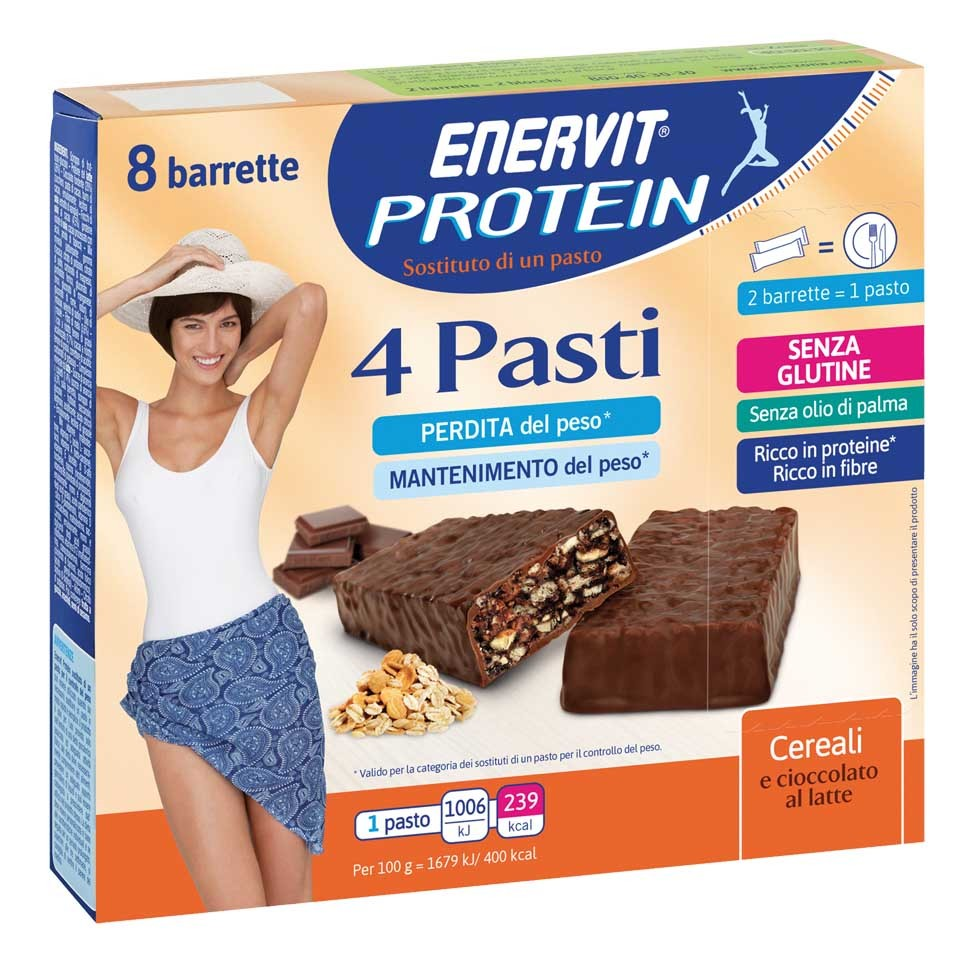 Protein 4 pasti cereali cioccolato dx rgb low